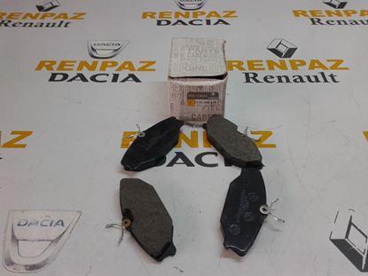 RENAULT MEGANE I ÖN FREN BALATASI 7701206379 - 7701209380 - 410607125R