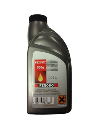 FERODO FBX050Z DOT 4 HİDROLİK FREN SIVISI 500 ML.