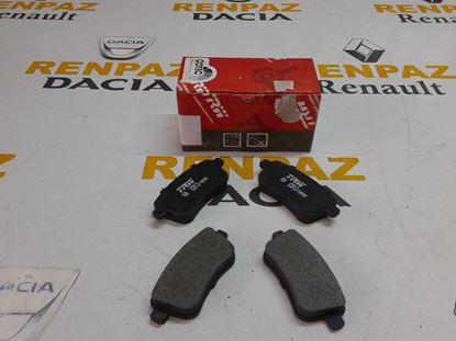 RENAULT MEGANE III ARKA FREN BALATASI 440604694R - 440601416R - 440603734R - GDB1791