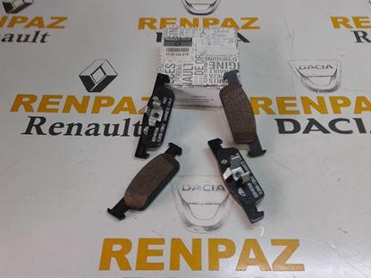 RENAULT CLİO IV ÖN FREN BALATASI 410602581R - 410605612R
