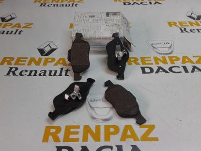 RENAULT SCENİC II ÖN FREN BALATASI 410601237R - 7701209100 - WVA24535