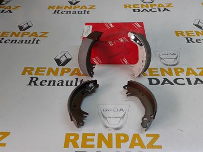 RENAULT 11 / FLASH ARKA PABUÇ BALATA 7701202287 - 7701202887 - 7701349649 - GS8321