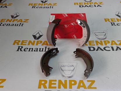 RENAULT 9 ARKA PABUÇ BALATA 7701202287 - 7701202887 - 7701349649 - GS8321