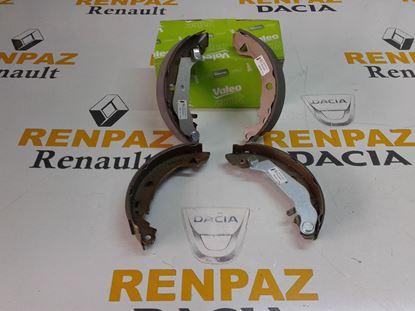 RENAULT EXPRESS ARKA PABUÇ BALATA 7701202919 - 1088218 - 562041