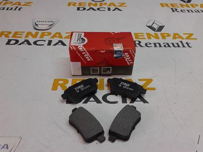 RENAULT KANGO III ARKA FREN BALATASI 440604876R - 440606267R - A4154210410 - GDB1786