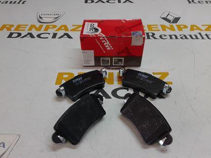 RENAULT MASTER ARKA FREN BALATASI 7701206763 - 4403467 - 4406000QAE - GDB1470