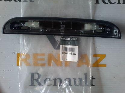RENAULT KANGO II PLAKA LAMBASI KOMPLE ORJINAL 8200103260 - 7700308722 - 7700308723 - 8200103259