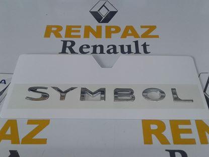 RENAULT CLİO SYMBOL MONOGRAM YAZI 8200867304