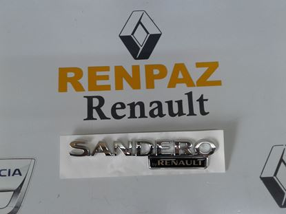 DACİA SANDERO BY RENAULT YAZISI 8200560866