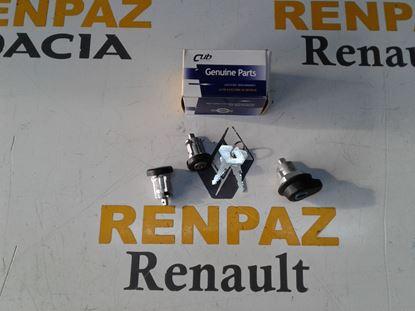 RENAULT 9 BAGAJ+KAPI KİLİT ŞİFRE TK 7701349483 - 7701349637 - 7700795759
