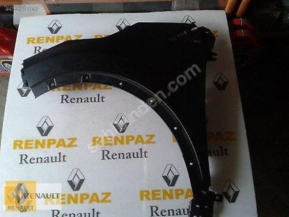 RENAULT CAPTUR SOL ÖN ÇAMURLUK 631019604R - 631018998R