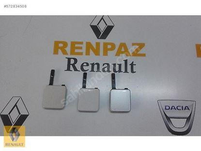 RENAULT FLUENCE ÖN TAMPON ÇEKİ KAPAĞI GÜMÜŞ 511807412R