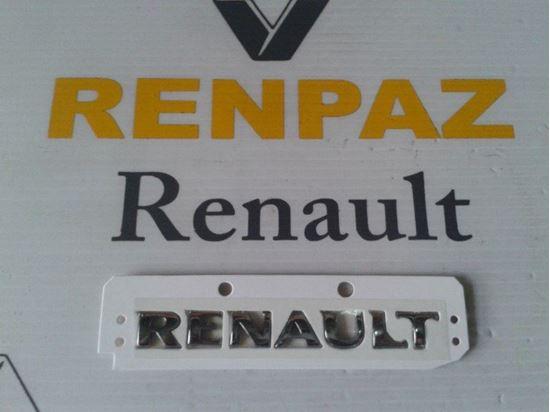 CLİO 3/MEGANE 2 BAGAJ RENAULT YAZISI 8200484897