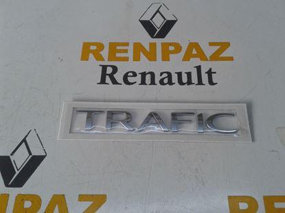 RENAULT TRAFİC 3 BAGAJ YAZISI 908900184R