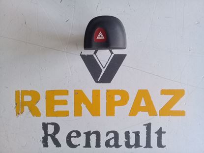 RENAULT MEGANE 1/SCENİC 1 DÖRTLÜ FLAŞÖR DÜĞMESİ 7700435867 - 7700430165 - 7700841043