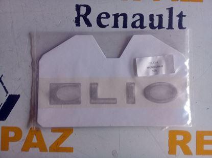 RENAULT CLİO 4 ARKA BAGAJ KAPAK YAZISI 908893003R