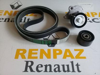 RENAULT/NISSAN/OPEL 2.0-2.3 DCİ ALTERNATÖR KAYIŞ KİTİ M9R-M9T 7701476645 - 1172000Q0C - 8660004389