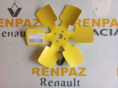 RENAULT 12 TOROS VANTİLATÖR PERVANESİ (SAC PERVANE) 7700507890 - 7702246299